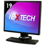 "19"" Resistive Touch Screen Monitor (Metallic Black)"