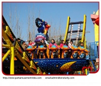 Welcomed electronic games machine moon floating car,amusement park rides - amusement park rides