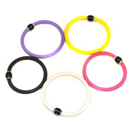 Ion silicone Bracelet with magnetic buckle