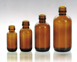 amber oral liquid glass bottles - 0004
