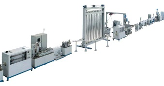 Butt Welded PE-X/Al/PE-X Multi-layer pipe Production Line