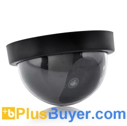 Dummy Dome Surveillance Camera with Red LED Light - TXR-I238