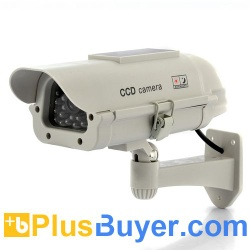 Ultra Realistic Dummy Camera with Red Blinking LED - Solar Powered - TXR-I264