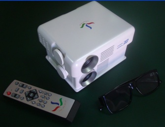 polarized 3d projector