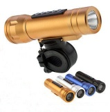 LED torch bicycle speaker, Torch speaker