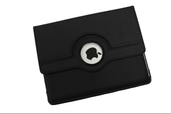 Lichee Pattern 360 Degree Rotating Leather Case For iPad3 - ID3-201