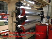 Plastic plate three rollers extrusion machine - Extrusion Machine