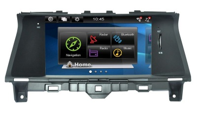 Honda Accord Car in dash navigation system - XY8885
