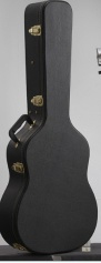 Acoustic guitar hard case for sale,Black Acoustic guitar case - WC-500M