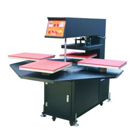Automatic Four-Stations Heat Press Machine