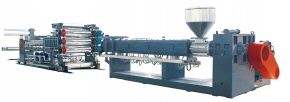 XPE chemical cross-linking foam sheet production line - xpe