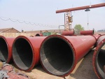 Rubber lined slurry pipes for tailings - SPR-01