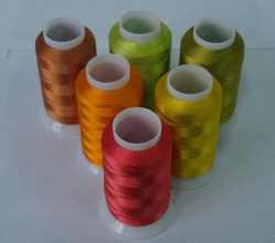 VISCOSE RAYON EMBROIDERY THREAD 120D/2 - 120D/2