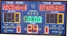 basketball scoreboard electronics led