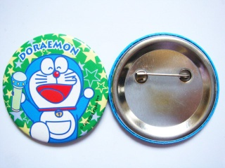 promotional button badge / advertisement button badge
