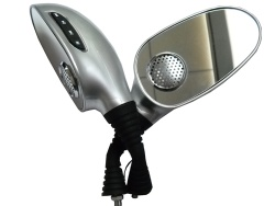 motorcycle rearview mirror mp3 player - SD-801