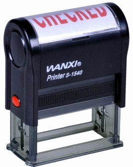 Wanxi Self-inking stamps - S-1540