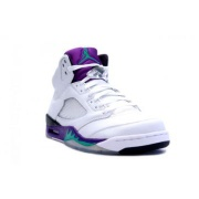 314259-131 Air Jordan 5 Retro Grapes White Grape Ice Emerald - 002