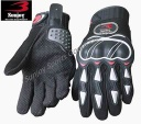 Skid proof micro fiber motorcycle gloves - MCG-11F