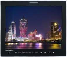 15 4:3 3G-SDI broadcast Monitor with peaking focus,built-in speaker - P150-3HSD