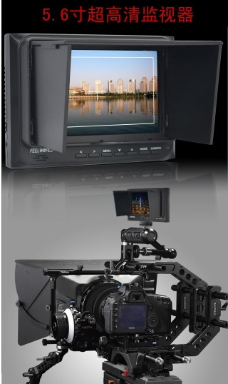 Feelworld 5.6 16:9 on camera field HD 1280x800 monitor - FW56D/O