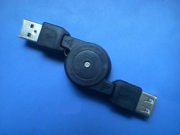 Male to Female Retractable USB Cable - HFL-02