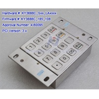 KY3688C PCI 3.x VISA approved encrypted PIN pad - KY3688C