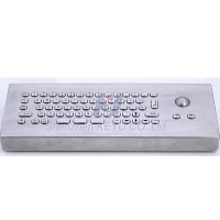 KY-PC-Mini-T-Desk desktop metal keyborad with optical trackball - KY-PC-Mini-T-Desk