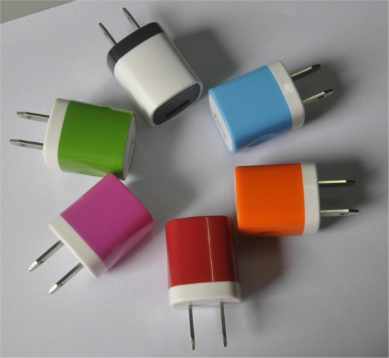 2013 NEW bi-color home charger for iphone - BD-602
