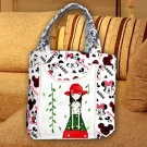 handmade cross stitch handbag