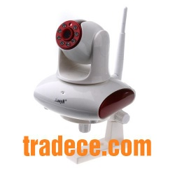 Security Surveillance IP Network Camera with Wi-Fi/Night Vision - TICB0606