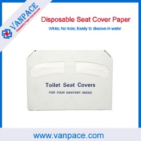 1/2 fold toilet paper/disposable paper/seat cover paper for hotel;hospital;home;travel - VP0001
