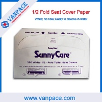 Good quality / Disposable paper/ seat cover paper / half fold toilet seat cover paper - VP0003