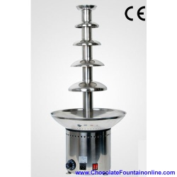 5 tiers chocolate fountain machine for sale - CF32A