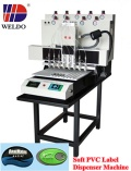 WD automatic soft pvc label micro-injection machine