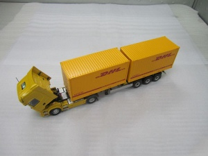 model truck factory in china - 1:50 DHL alloy model turck - 04