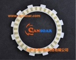 paper-based clutch plate for motorcycle - GT125/ZUES/SMASH