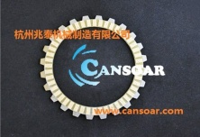 paper-based clutch plate for motorcycle - KYY110/TWISTER/CB125