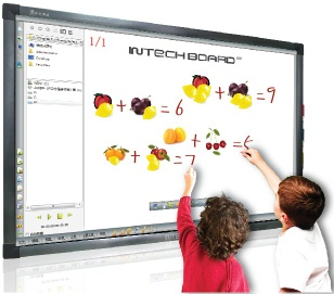 INTECH RE Series Dual User Infrared Interactive Whiteboard - RE Series