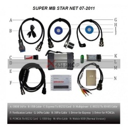 SUPER MB STAR NET 07/2012 TOP VERSION UPDATE ONLINE WITH ALL PC! - super mb star