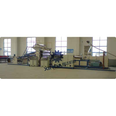 Wood Plastic Sheet Production Line