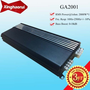 2000W Mono Block Digital Car Amplifier - GA2001