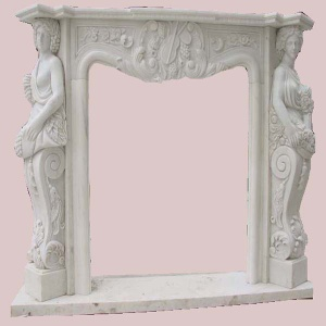 Marble stone carving fireplaces - XL-F001