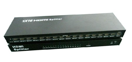 Hot sales, 1x16 HDMI Splitter HDMI 1 in 16 out