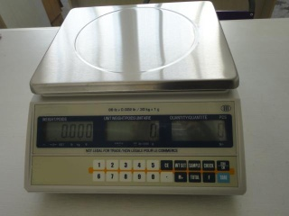 tabletop counting scale - JLW