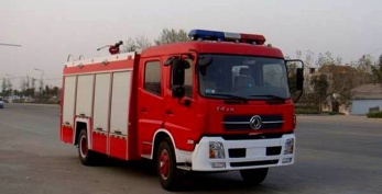 Dongfeng Tianjin  fire fighting trucks/6 ton fire trucks18771500288 - JDF5150GXFSG60T