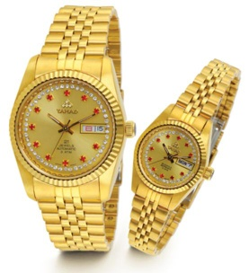 Mechanical wristwatch collection-HM HL 21  full gold - HM HL 21  full gold