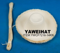 Chinese Glazed Paper Hat Body - YWCF7216-14K