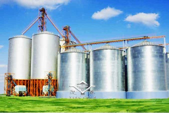 Galvanized Steel Grain Silo - silo