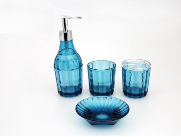 Acrylic Bath Accessories Set - P1